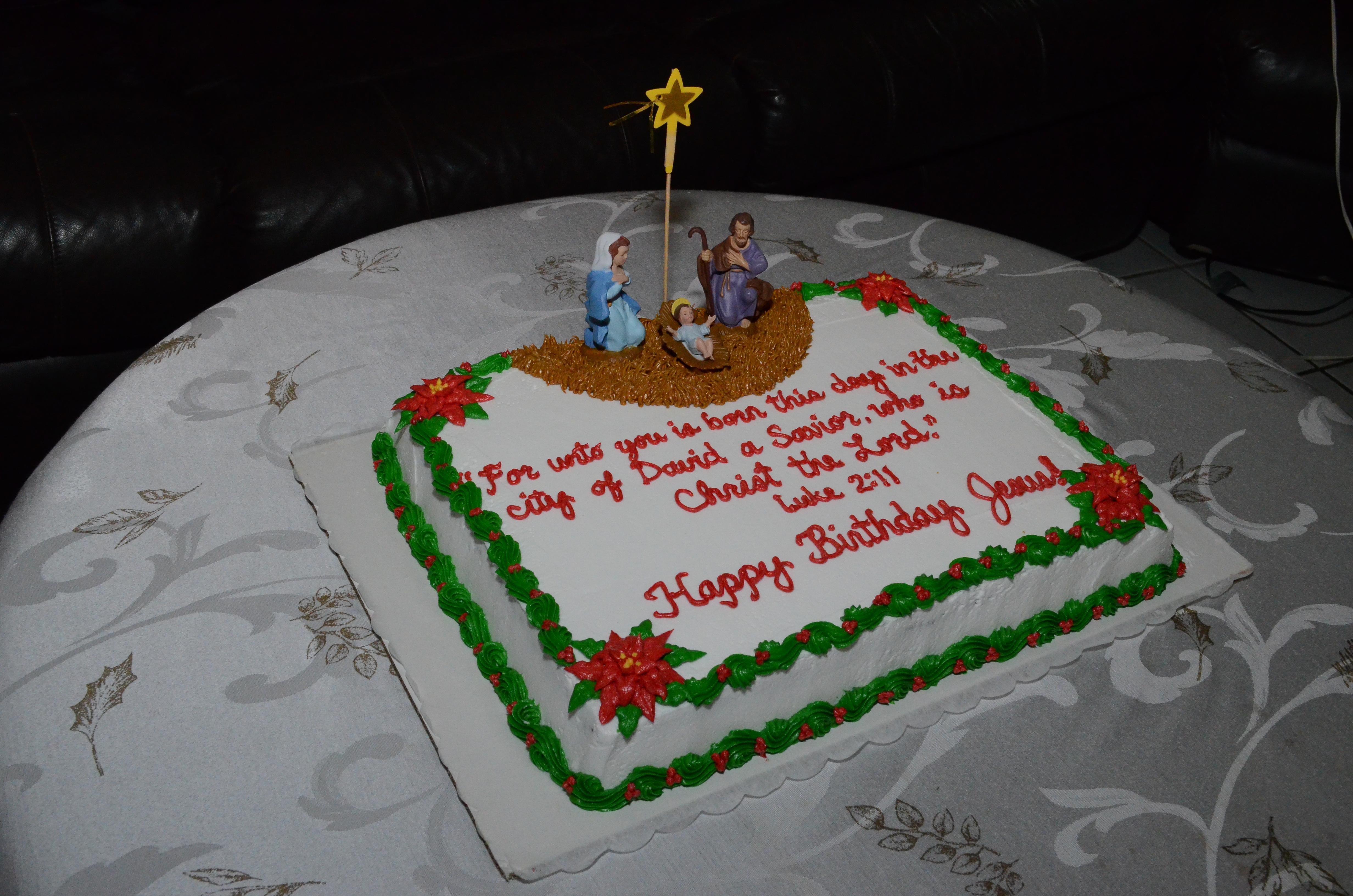 Happy Birthday Jesus in 2013