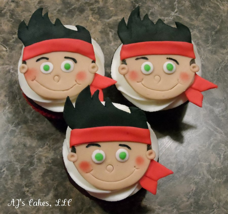 jake and the neverland pirates cupcakes - photo #18