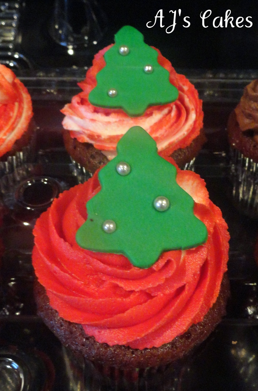 Christmas Tree Cupcakes on Cake Central