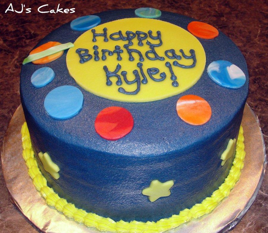 Solar System Cake Recipe