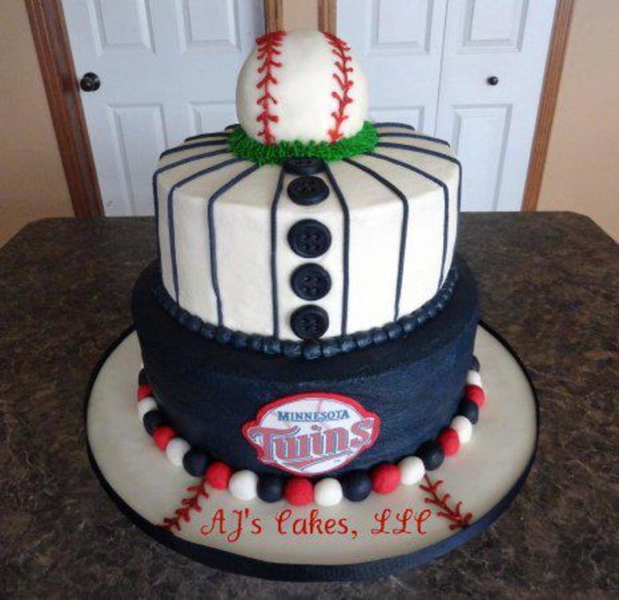 Minnesota Twins Baseball Cake Cakecentral Com