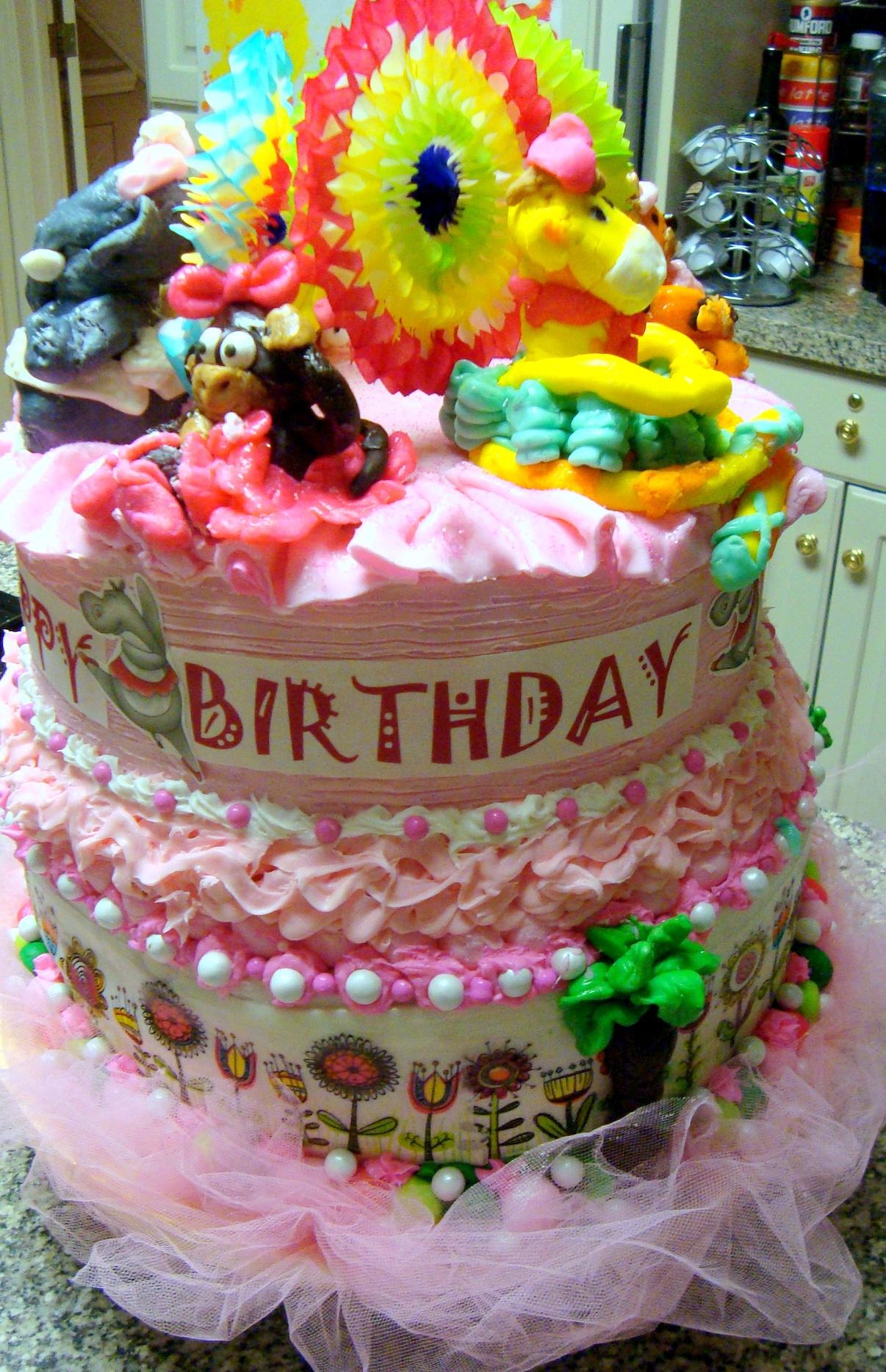 Sunburst Cake