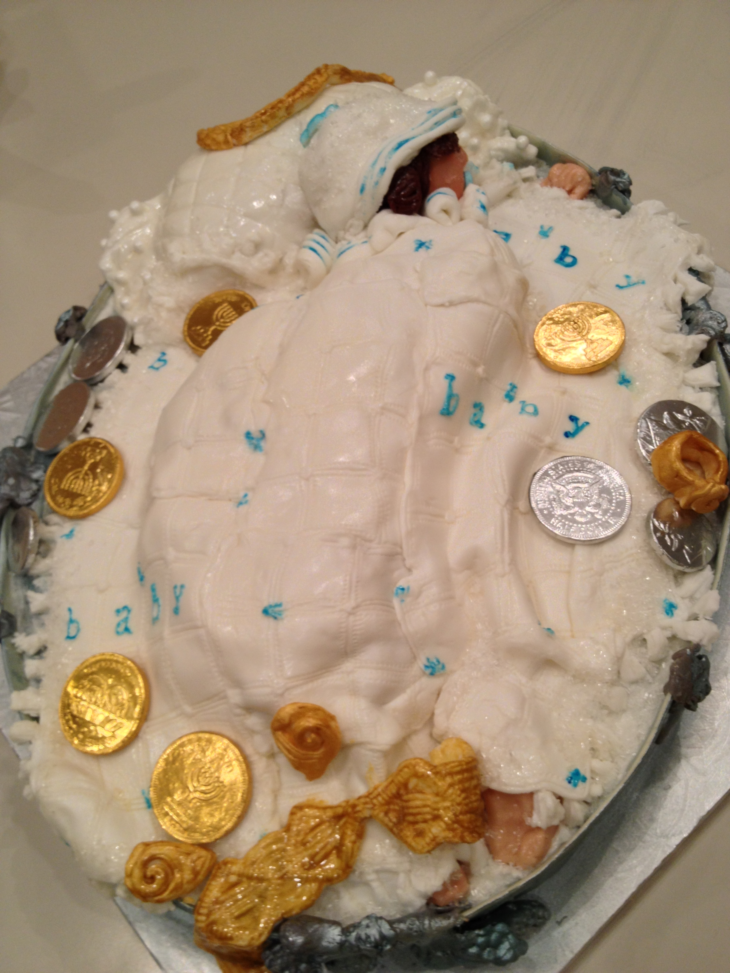 These Photos Are Of A Celebration Cake For A Jewish ...