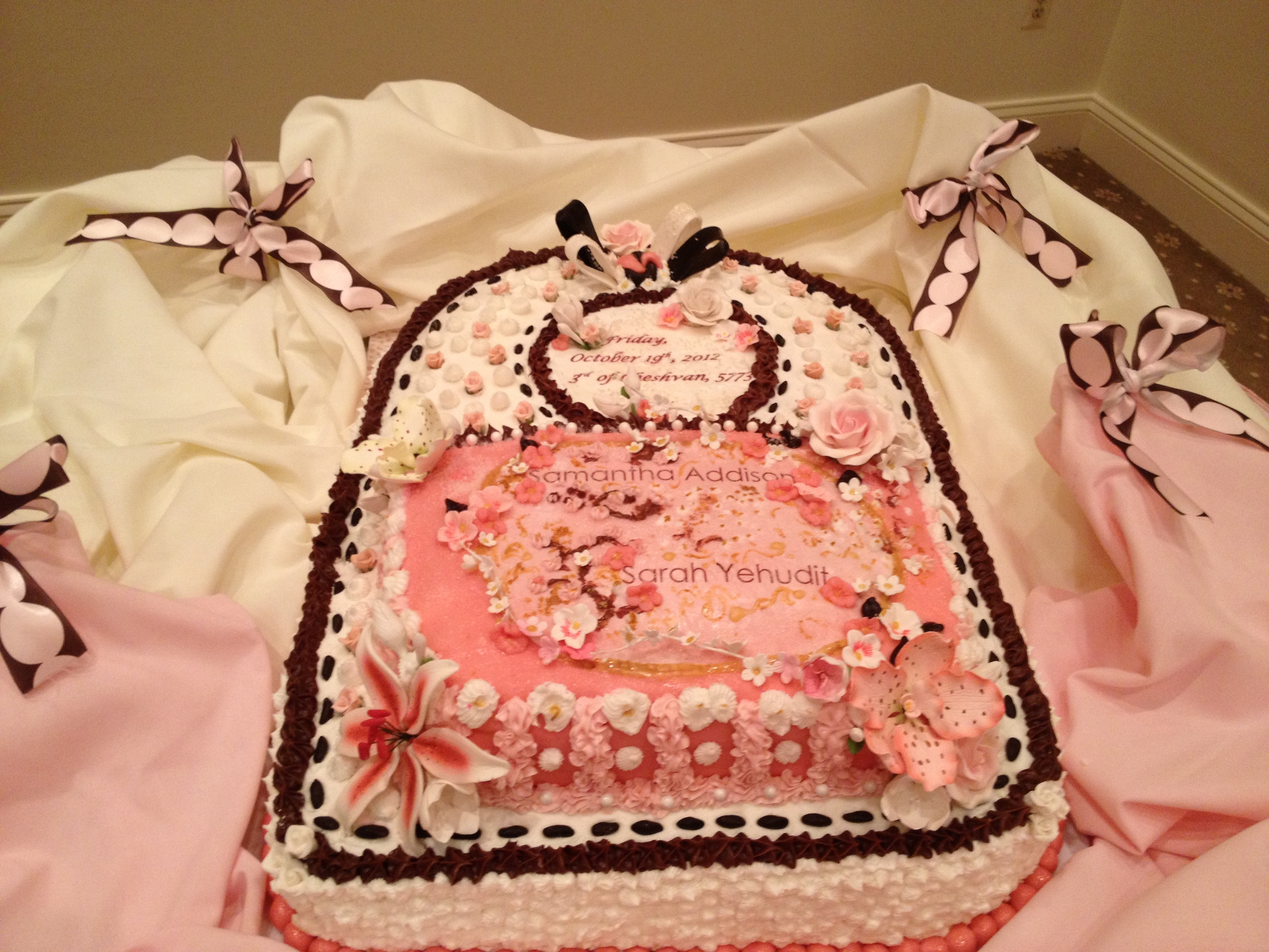 A Six Year Old Birthday Cake Recipe That Is Pink