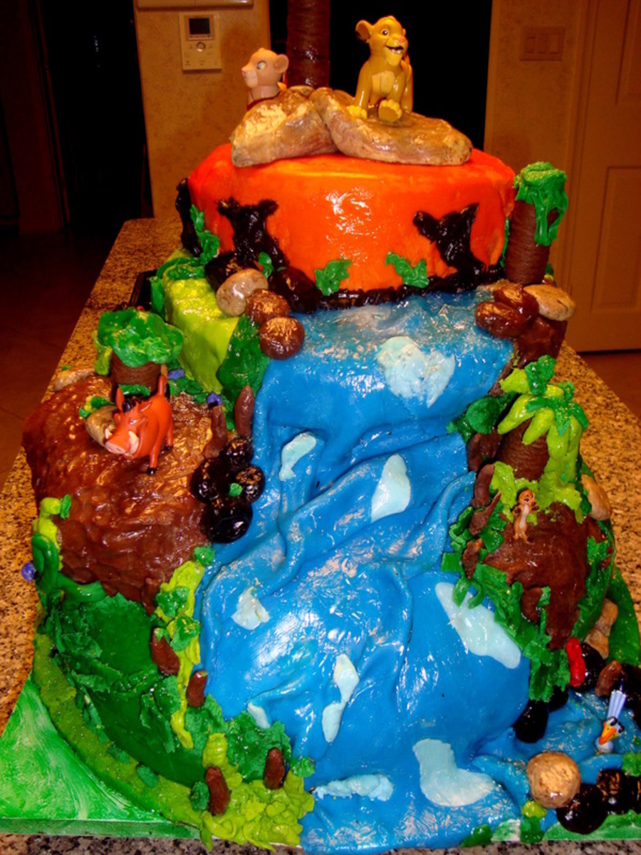 Lion King Cake For 4th Birthday Cakecentral Com