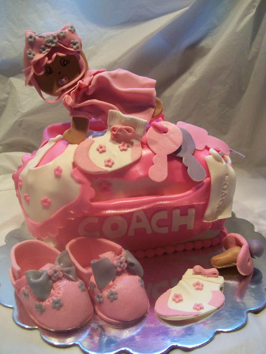 Diaper Bag Bag Cake on Cake Central