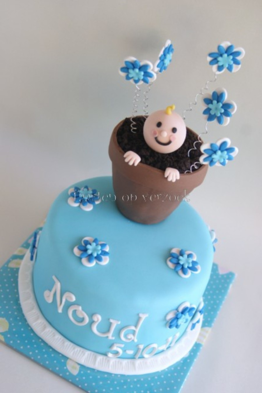 A Little Boy Is Born. on Cake Central