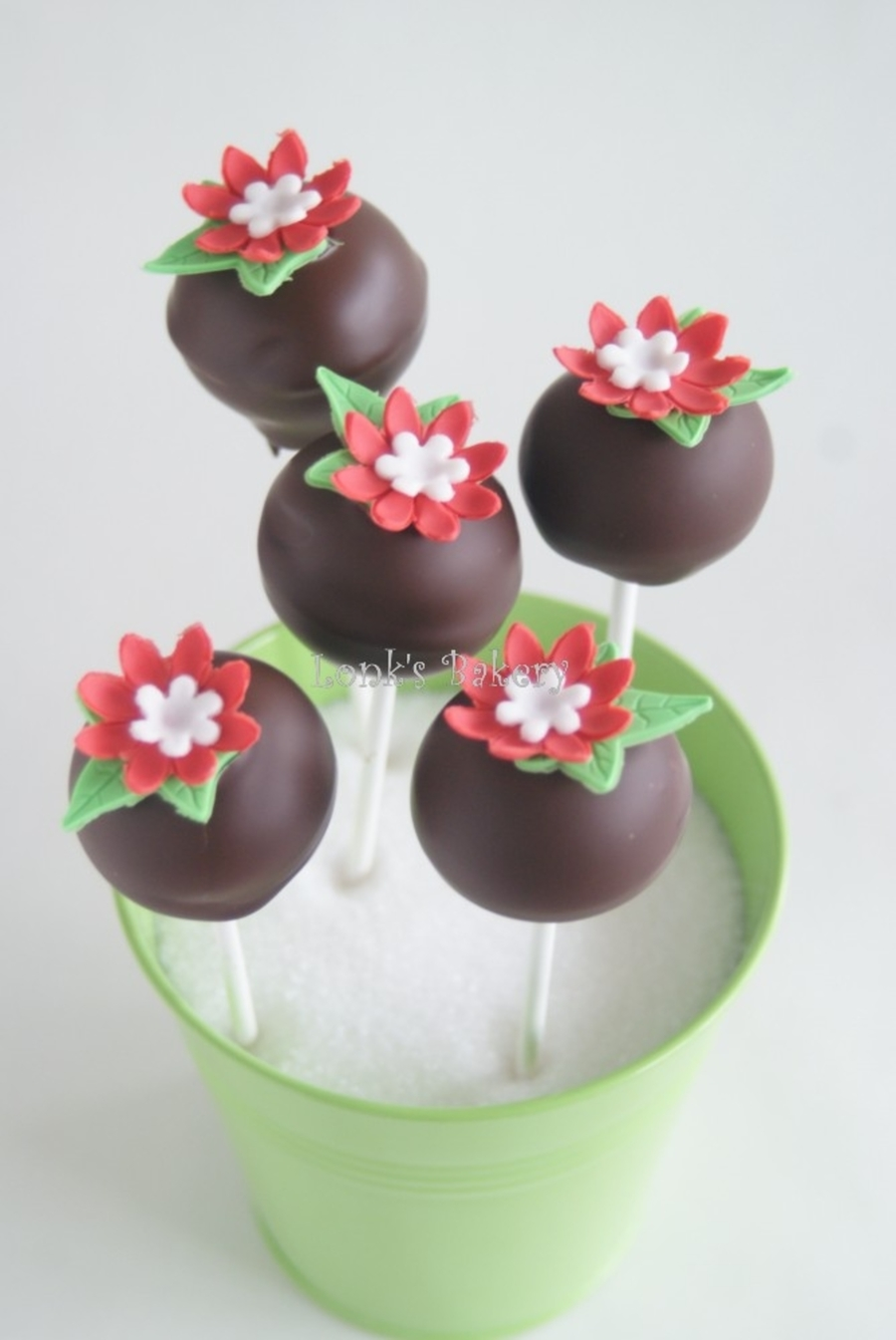 Flower Power Pops on Cake Central