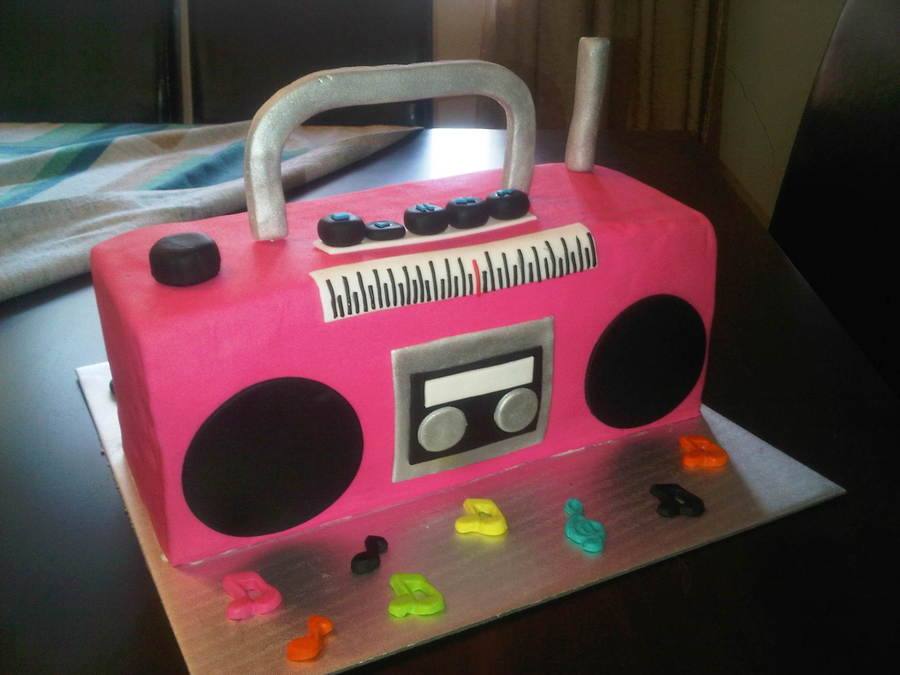 Images Of Boombox Cakes