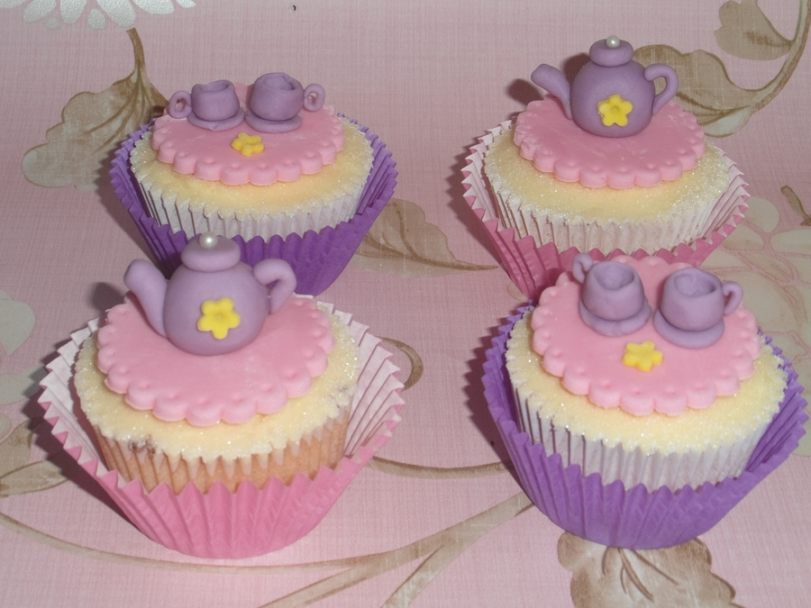 Teatime Cupcakes on Cake Central