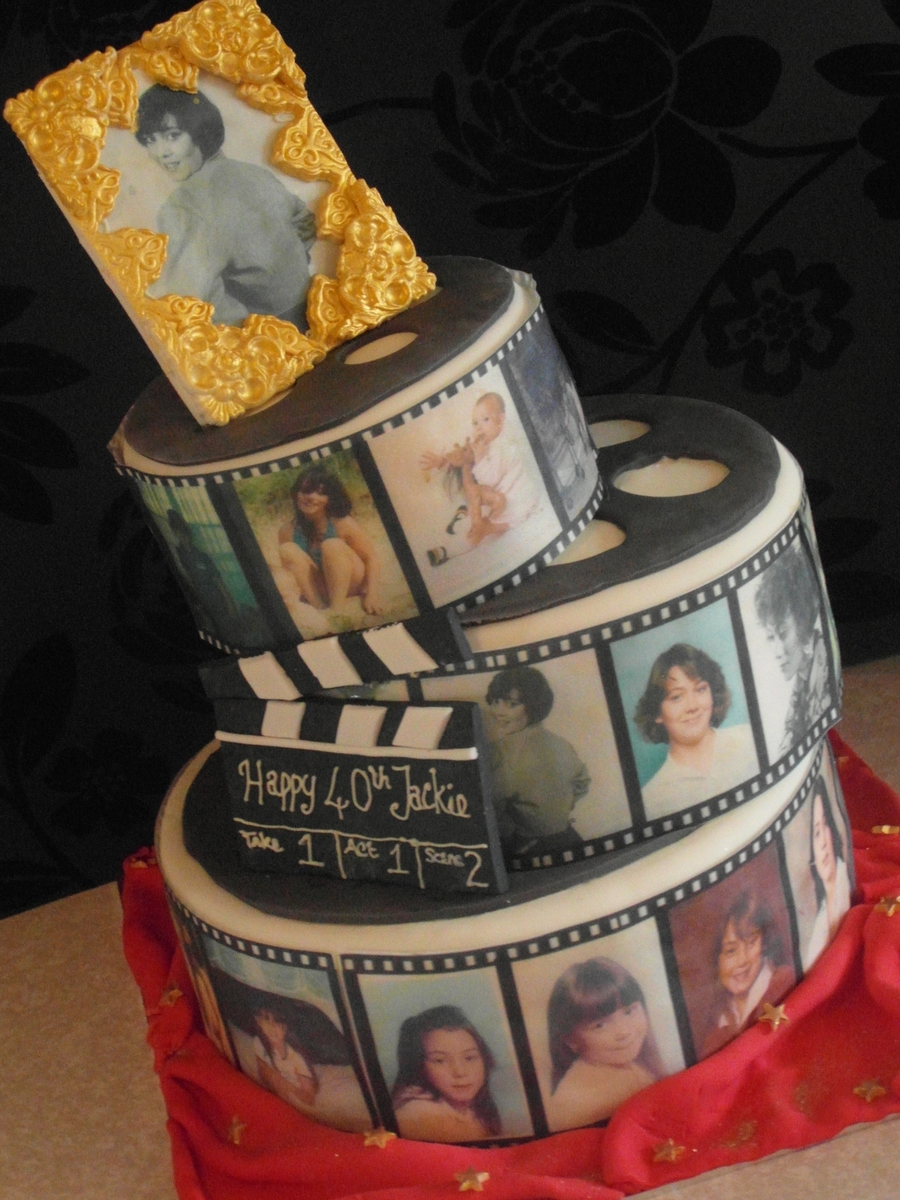 Images Of Movie Reel Cakes