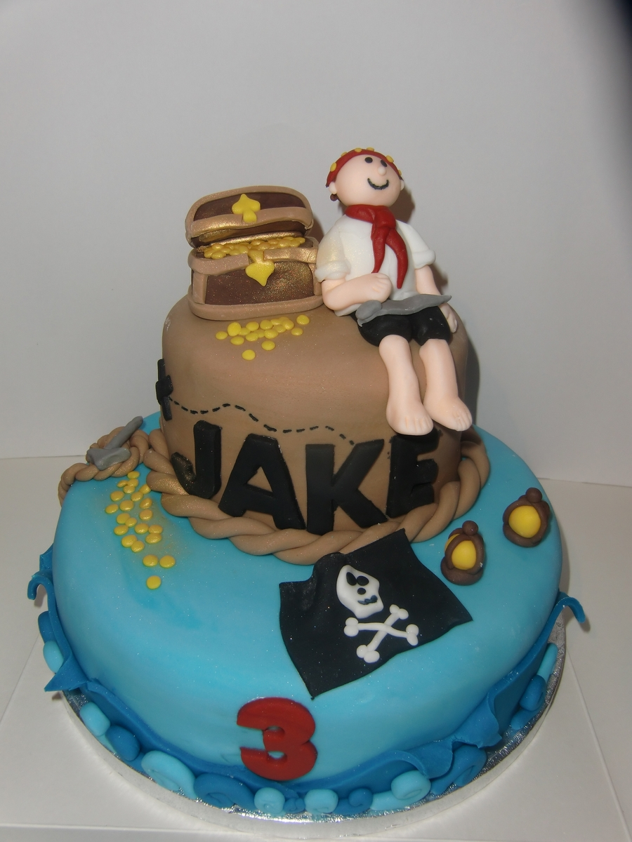 Jake And The Neverland Pirates Cake Cakecentral