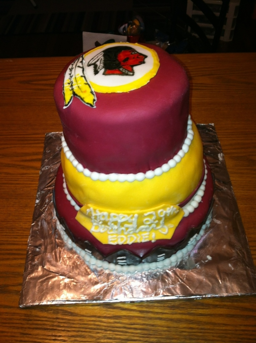 Washington Redskins Birthday Cake Cakecentral Com