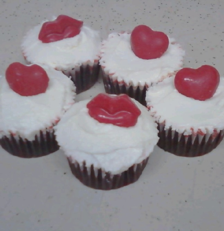 Valentines Day Cupcakes on Cake Central