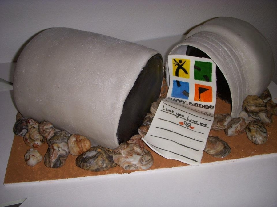 Geocaching Birthday Cake on Cake Central