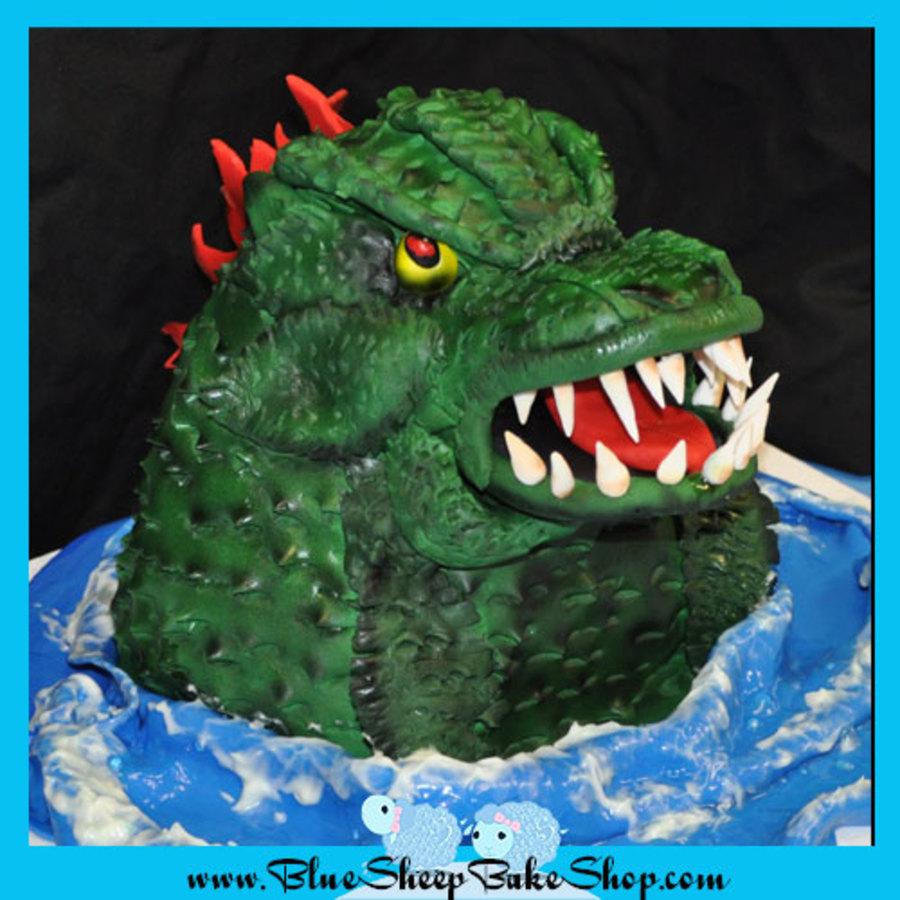 Godzilla Cake Cakecentral Com