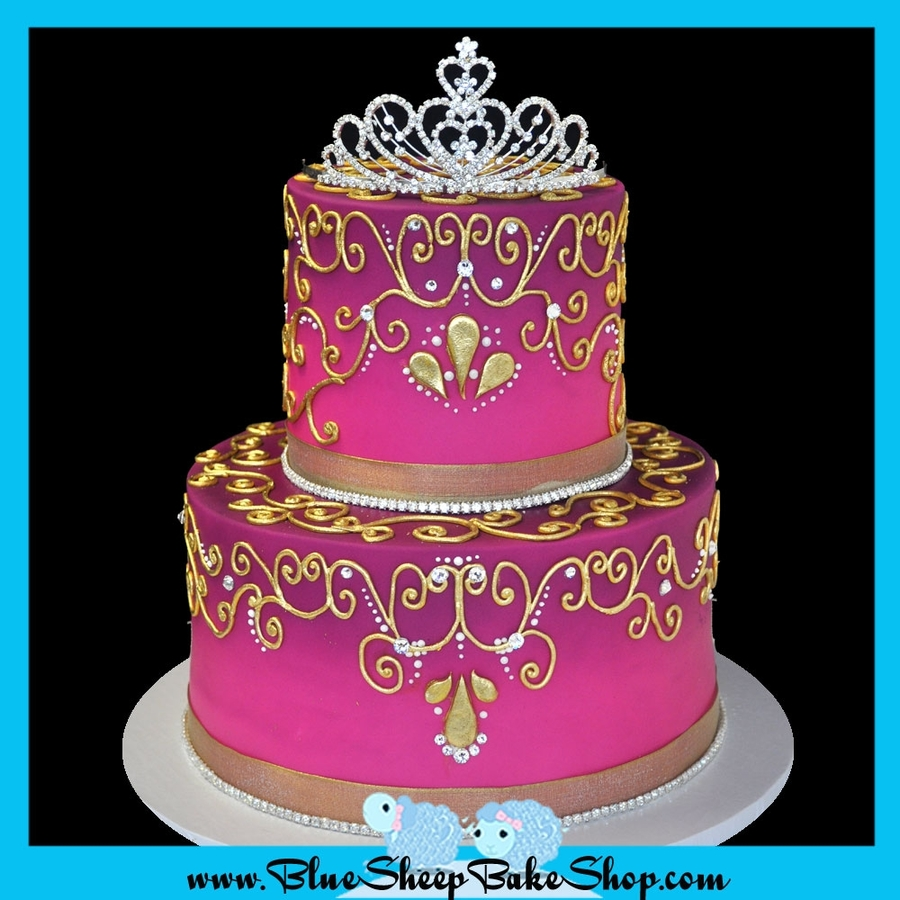 Birthday Cake Pictures Of Princess : Indian Princess Birthday Cake - CakeCentral.com