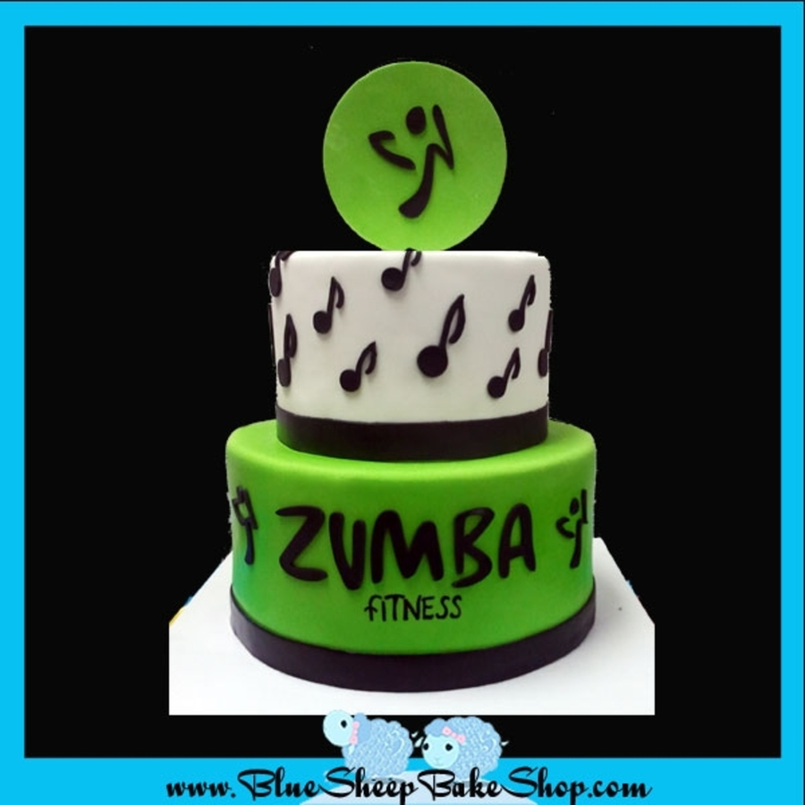Zumba Cake on Cake Central
