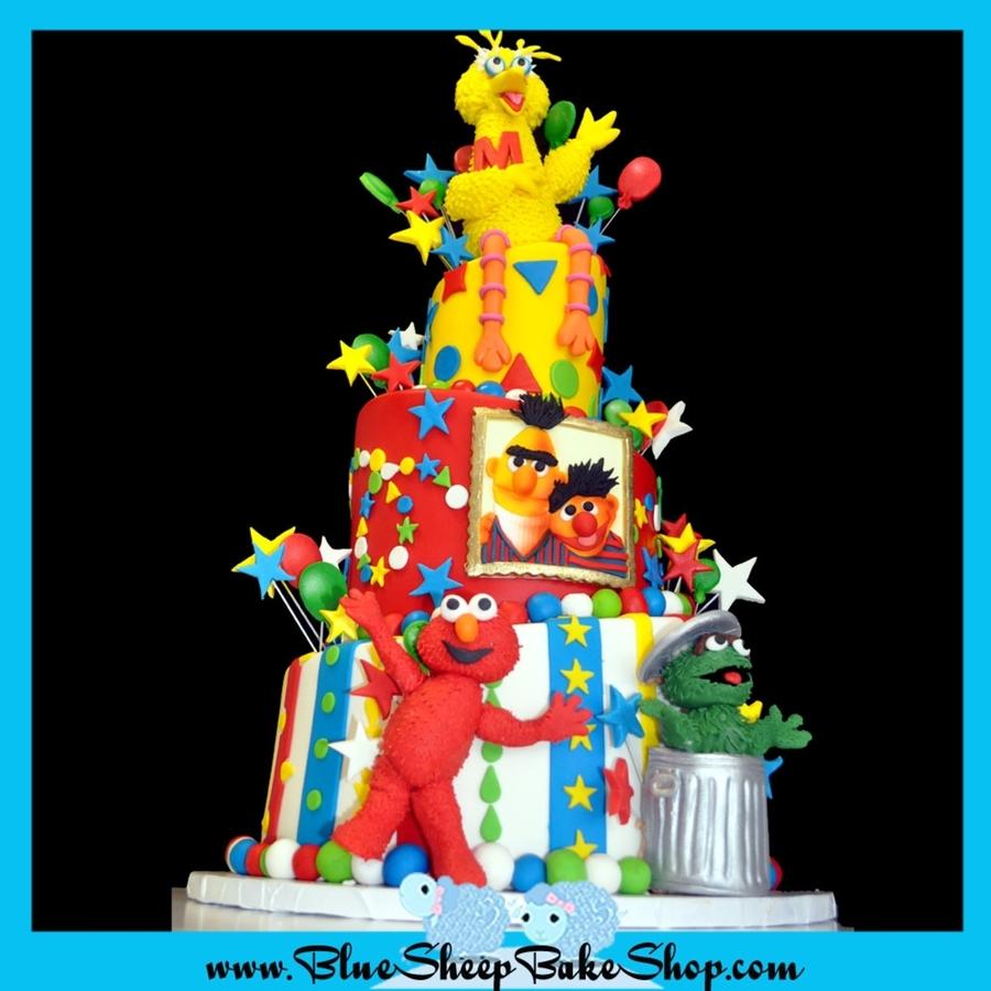 Ernie Birthday Cake