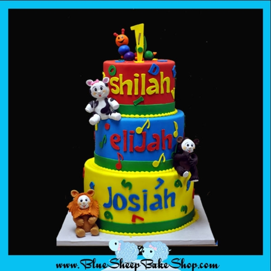 Baby Einstein Birthday Cake on Cake Central