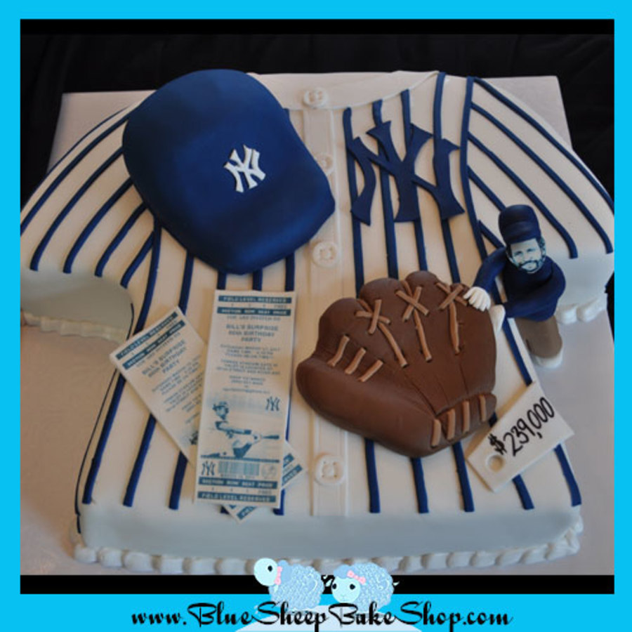 New York Yankees Jersey Cake on Cake Central