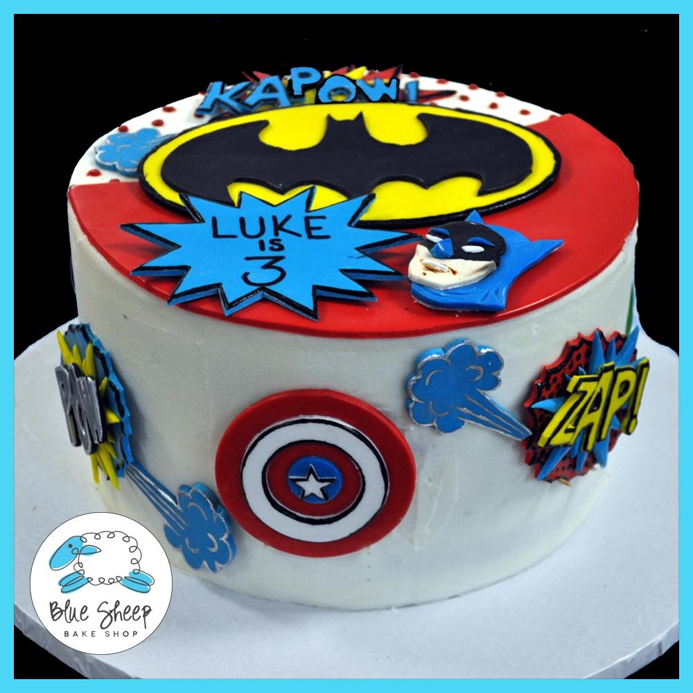 Superhero Birthday Cake Recipes