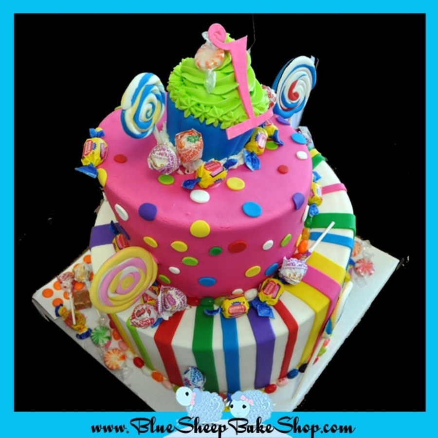 Candy Land Cake Images