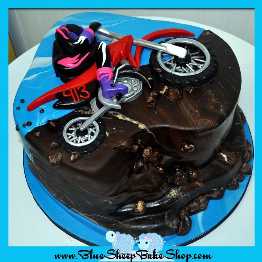 Dirt Bike Birthday Cake Cakecentral
