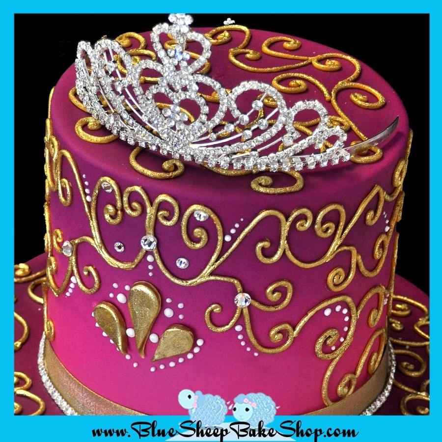 Brilliant Indian Princess Birthday Cake Cakecentral Com Funny Birthday Cards Online Elaedamsfinfo
