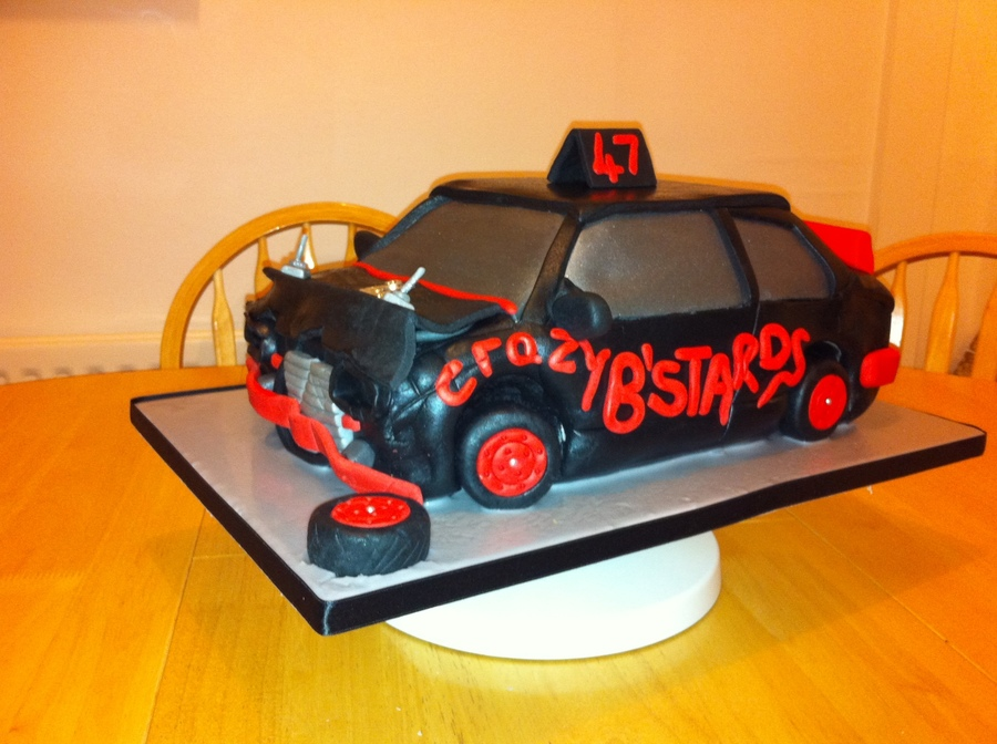 Banger Car CakeCentralcom