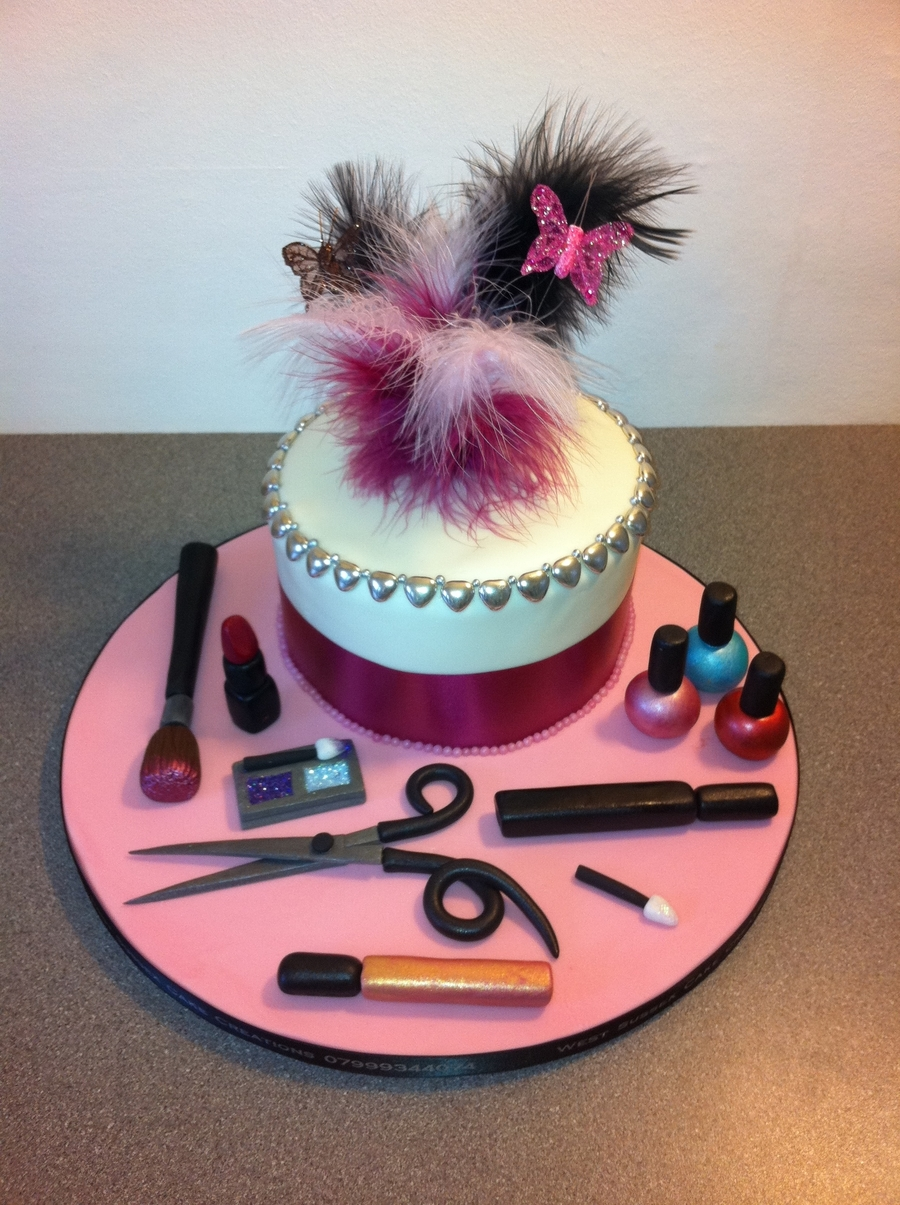 Hairdressing And Make Up on Cake Central