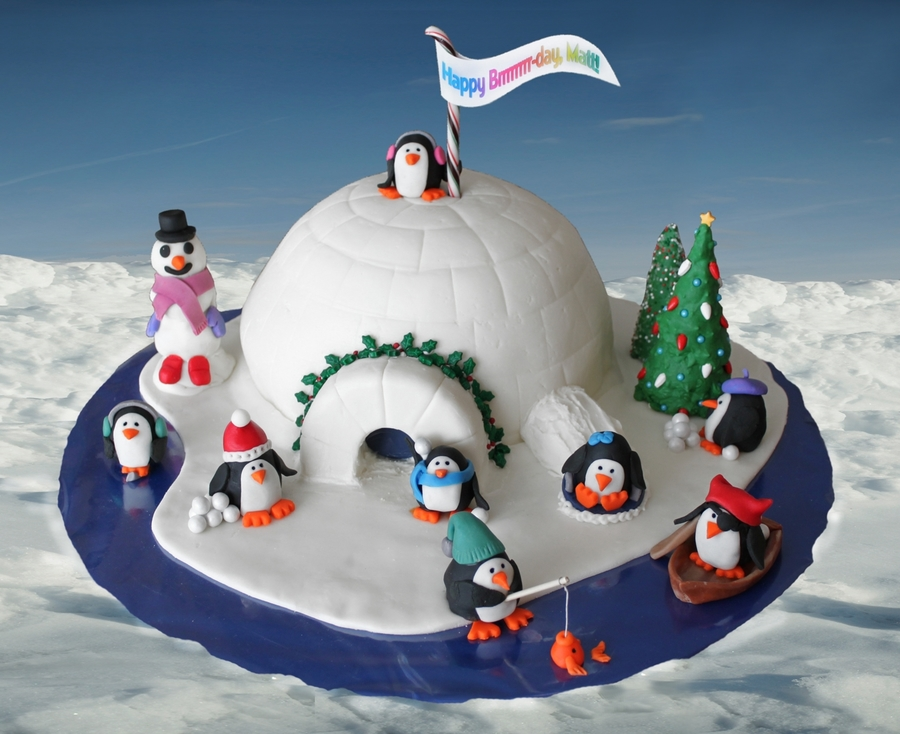 Penguinville on Cake Central