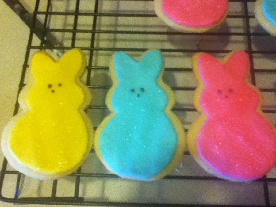 Peep Cookies! on Cake Central