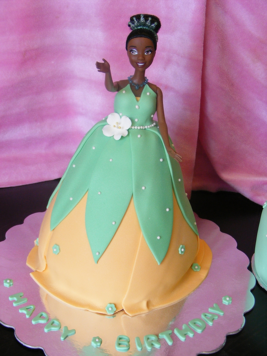 Princess Tiana Birthday Cake Cakecentral