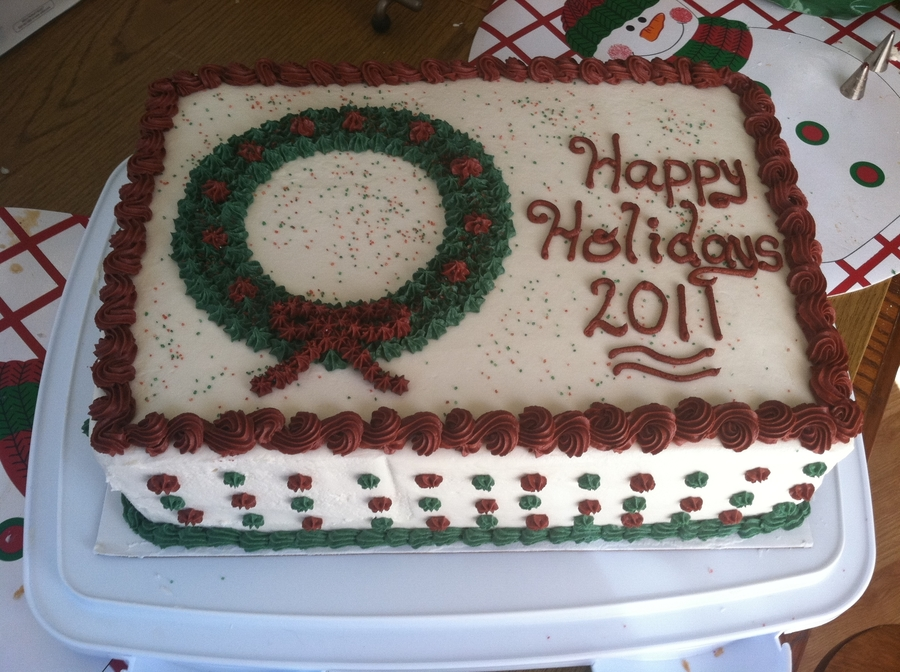 Holiday Cake on Cake Central