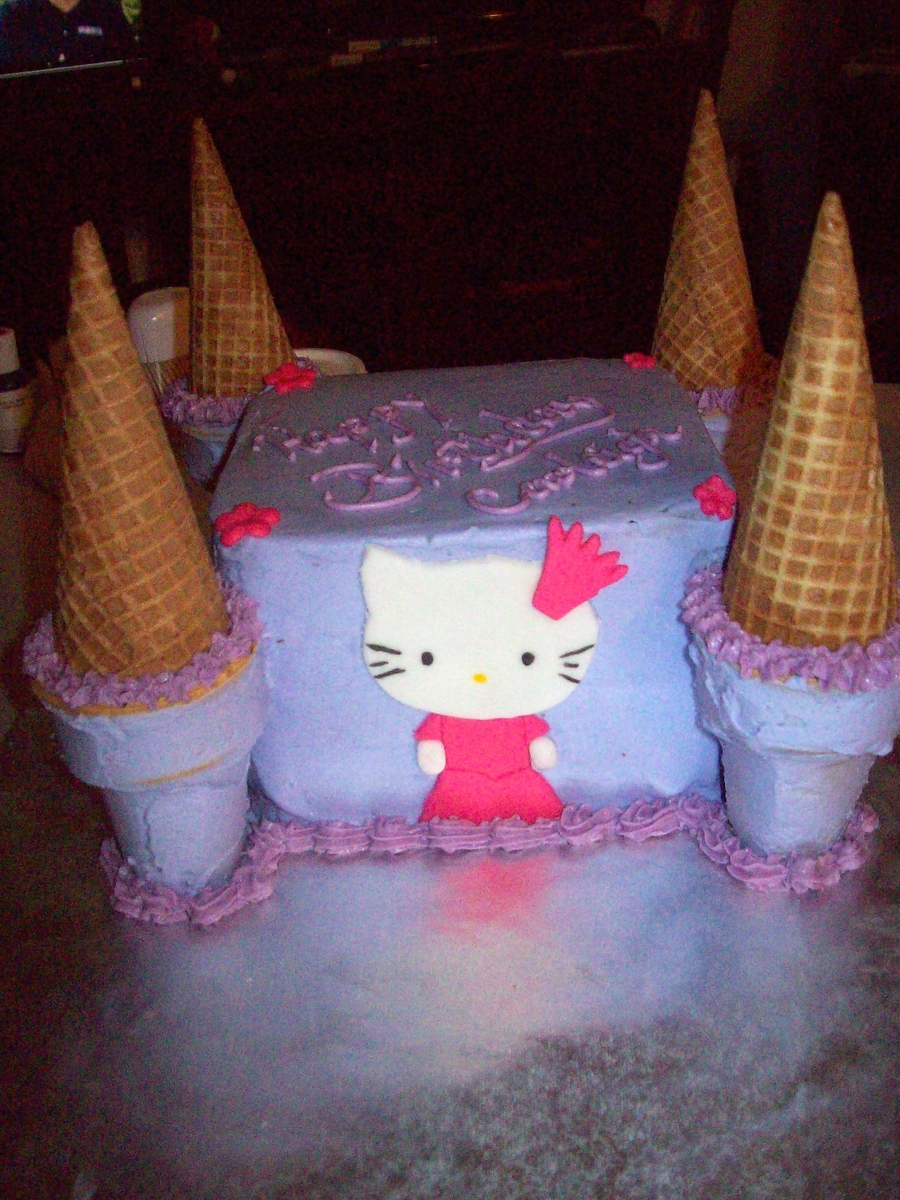 Hello Kitty Princess Cake  on Cake Central