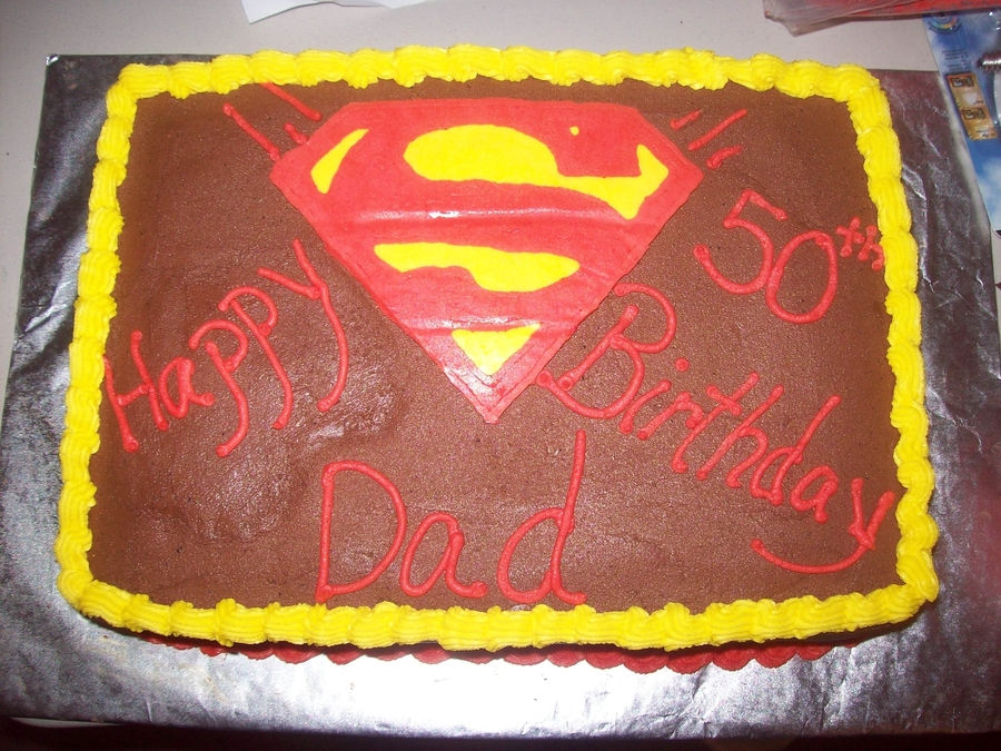 Dad's 50Th Birthday Cake on Cake Central