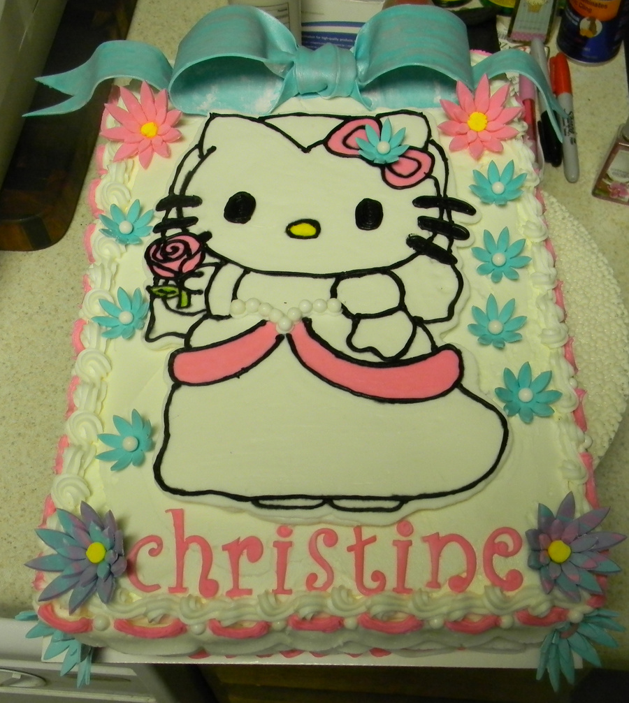 Hello Kitty Bridal Shower Cakecentral Com