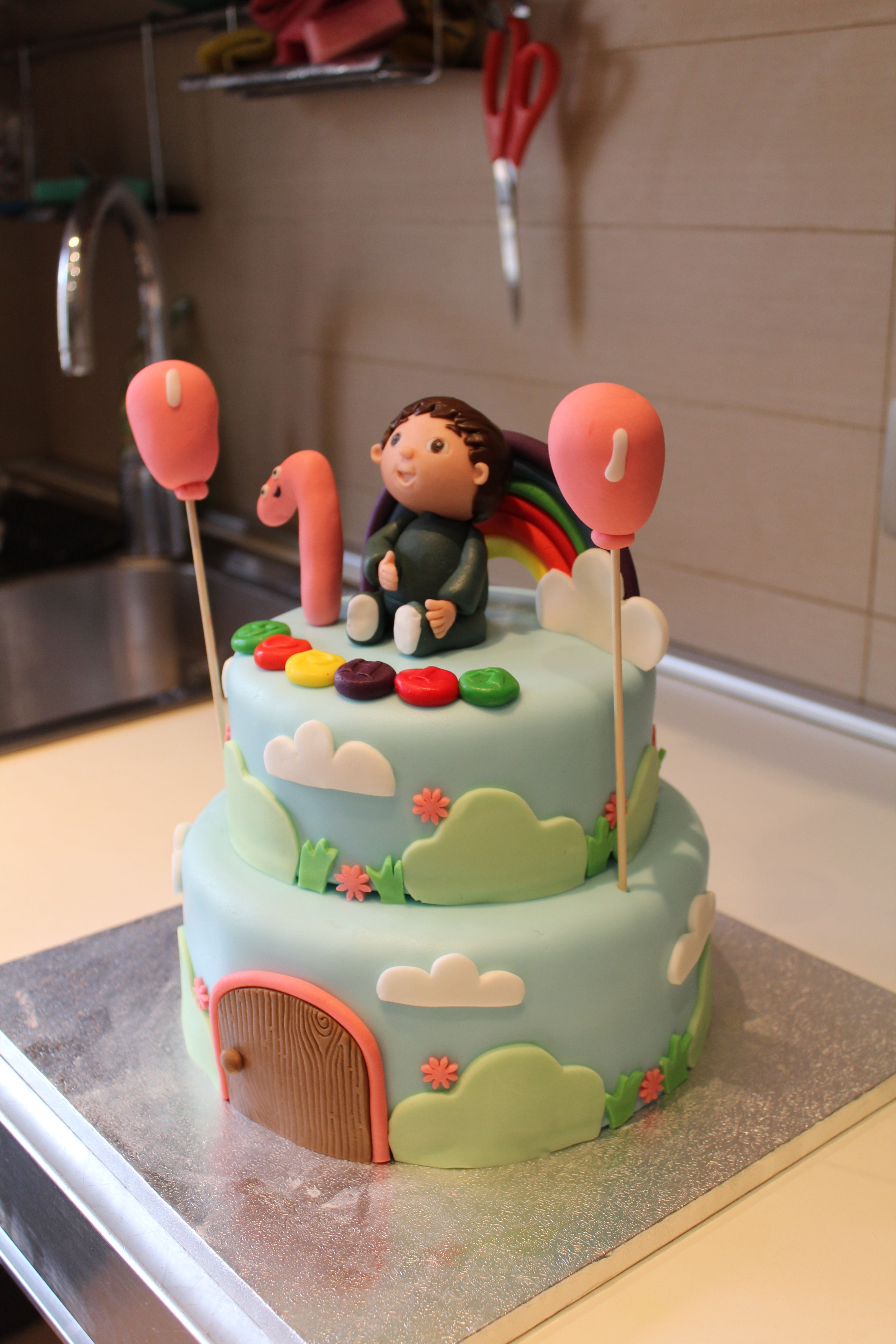 Charlie And The Numbers Cake Cakecentral Com
