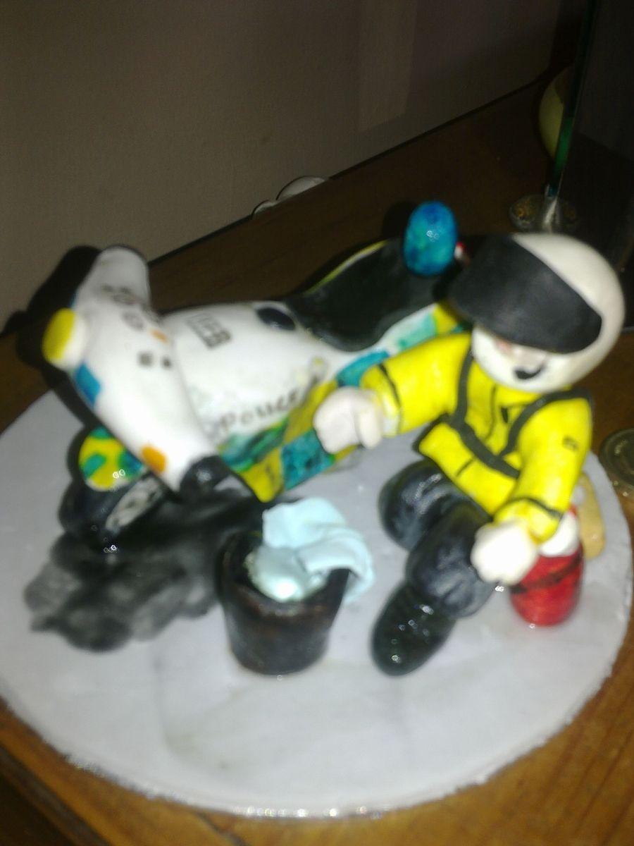 Police Motorbike Cake