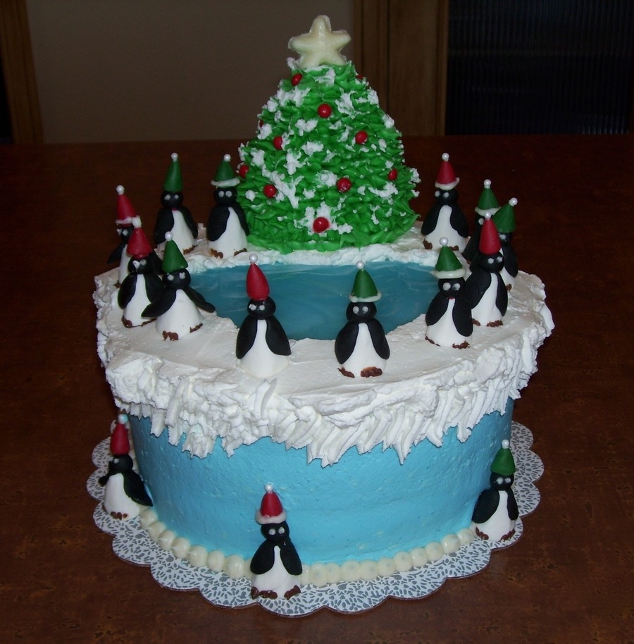 Penguins On Parade on Cake Central