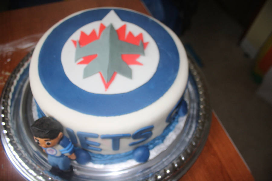 Winnipeg Jets Birthday Cake Cakecentral