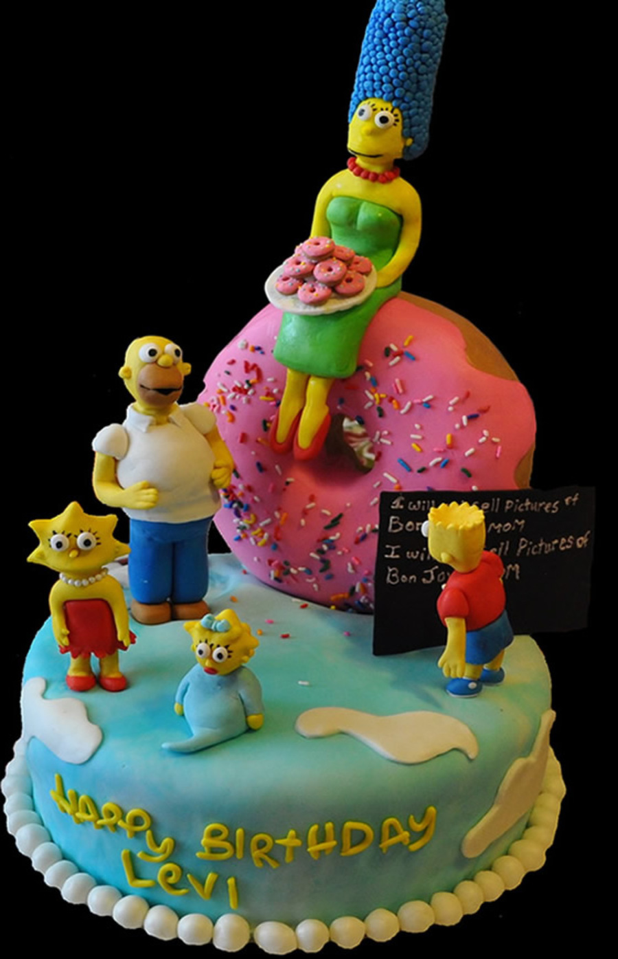Simpsons on Cake Central