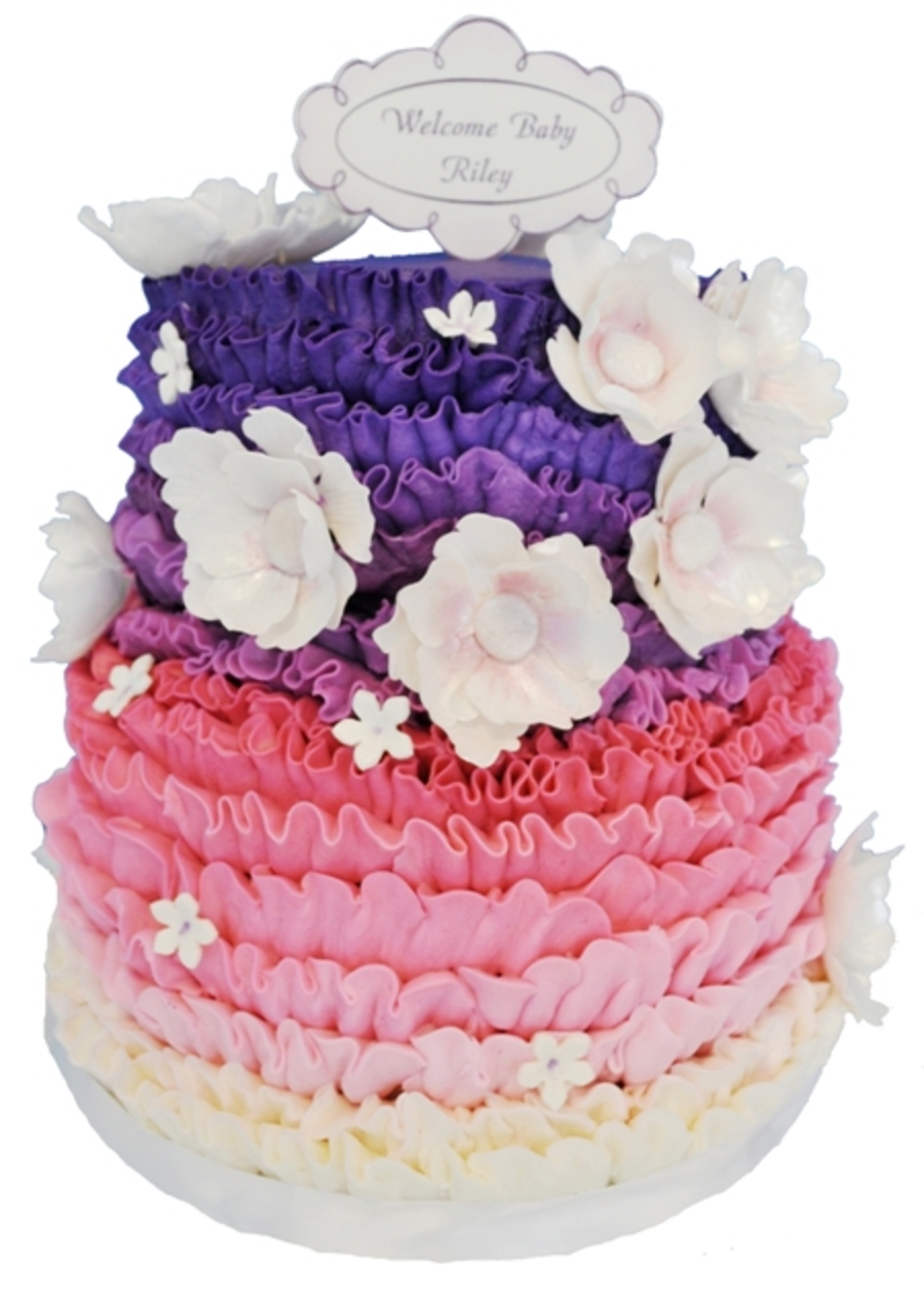 Buttercream With Gumplaste Flowers on Cake Central