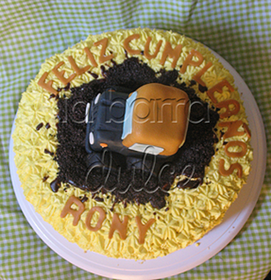 Cake Design Guatemala : Jeep Cake Pastel Guatemala - CakeCentral.com