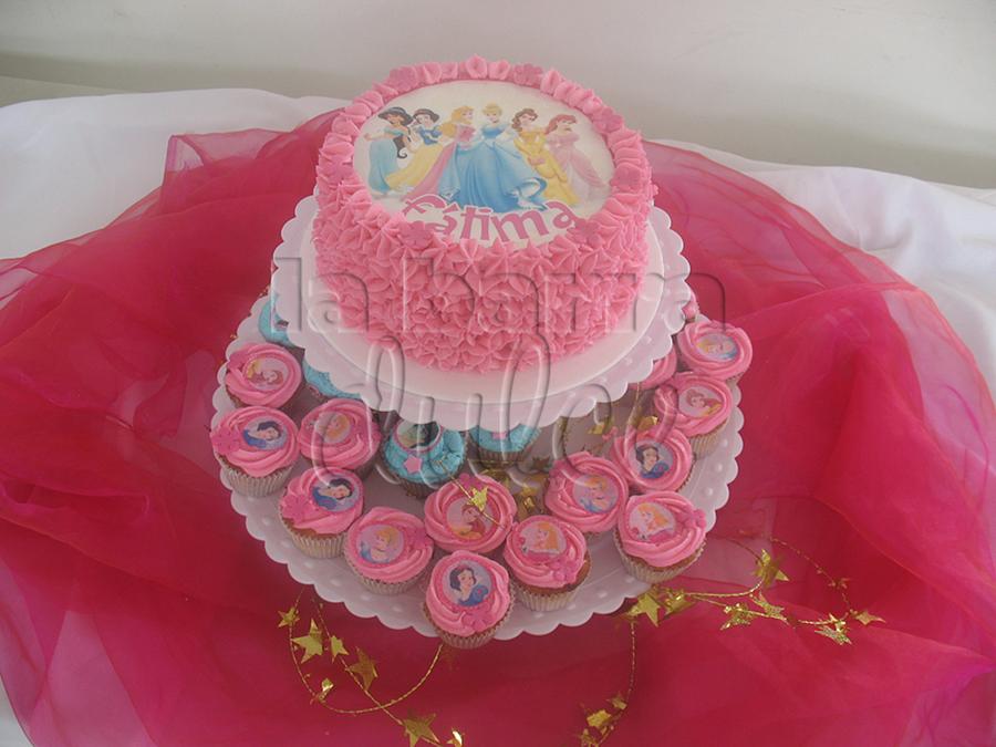 Disney Princesses Cake Cupcakes Pastel Guatemala ...