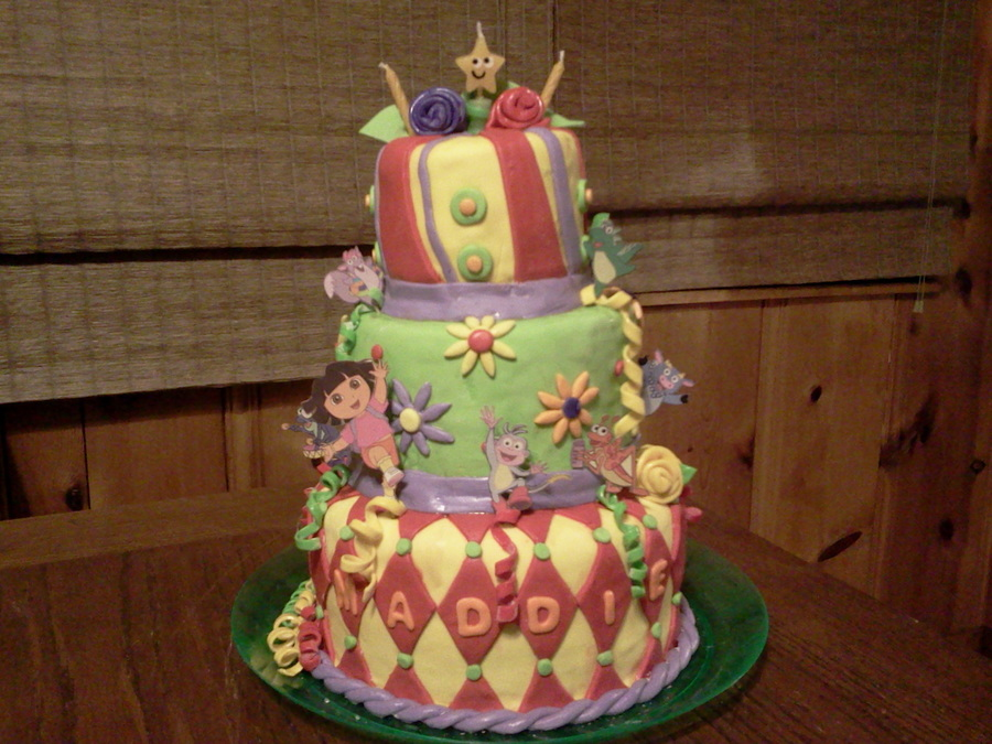 Magical Dora on Cake Central