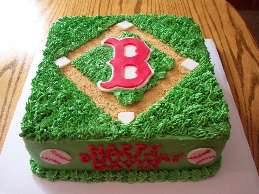 Boston Red Sox Cake On Central