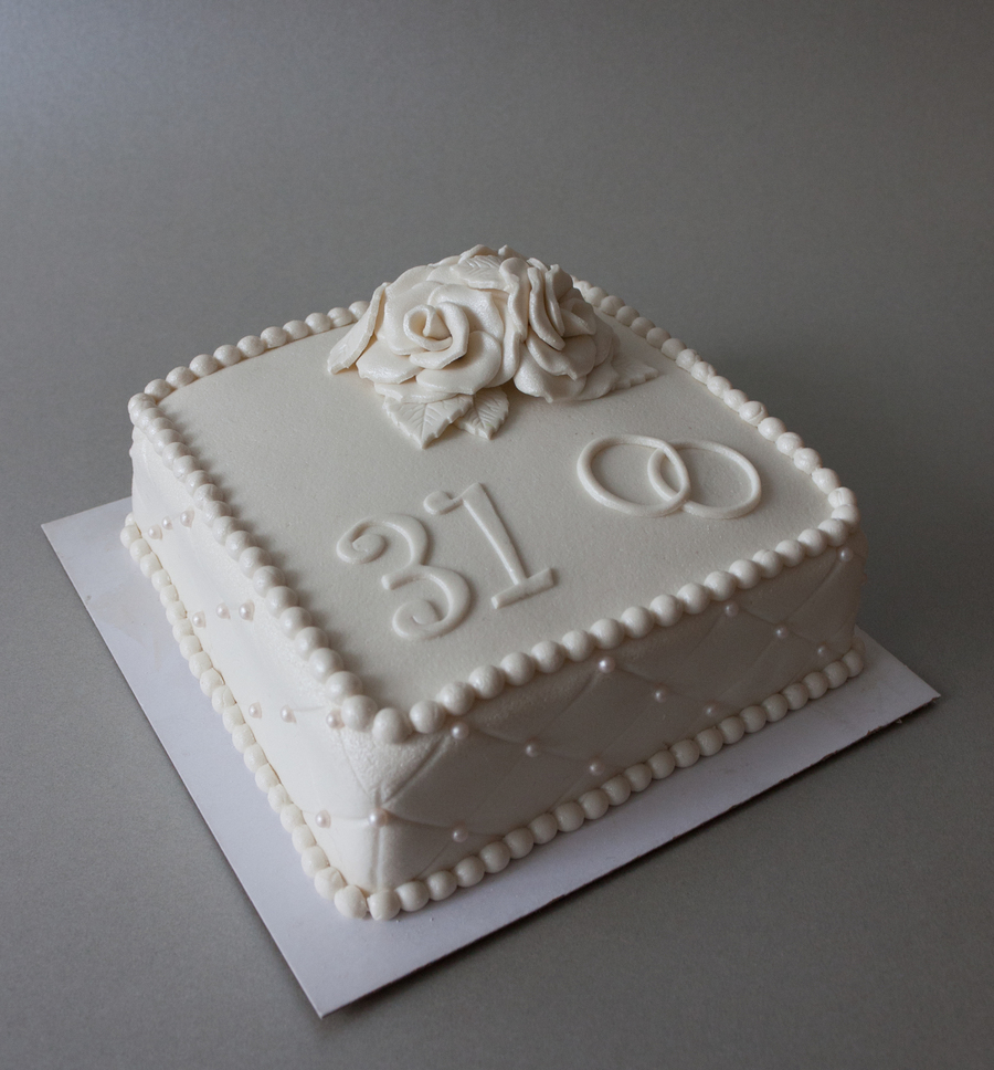 31 Th Anniversary on Cake Central