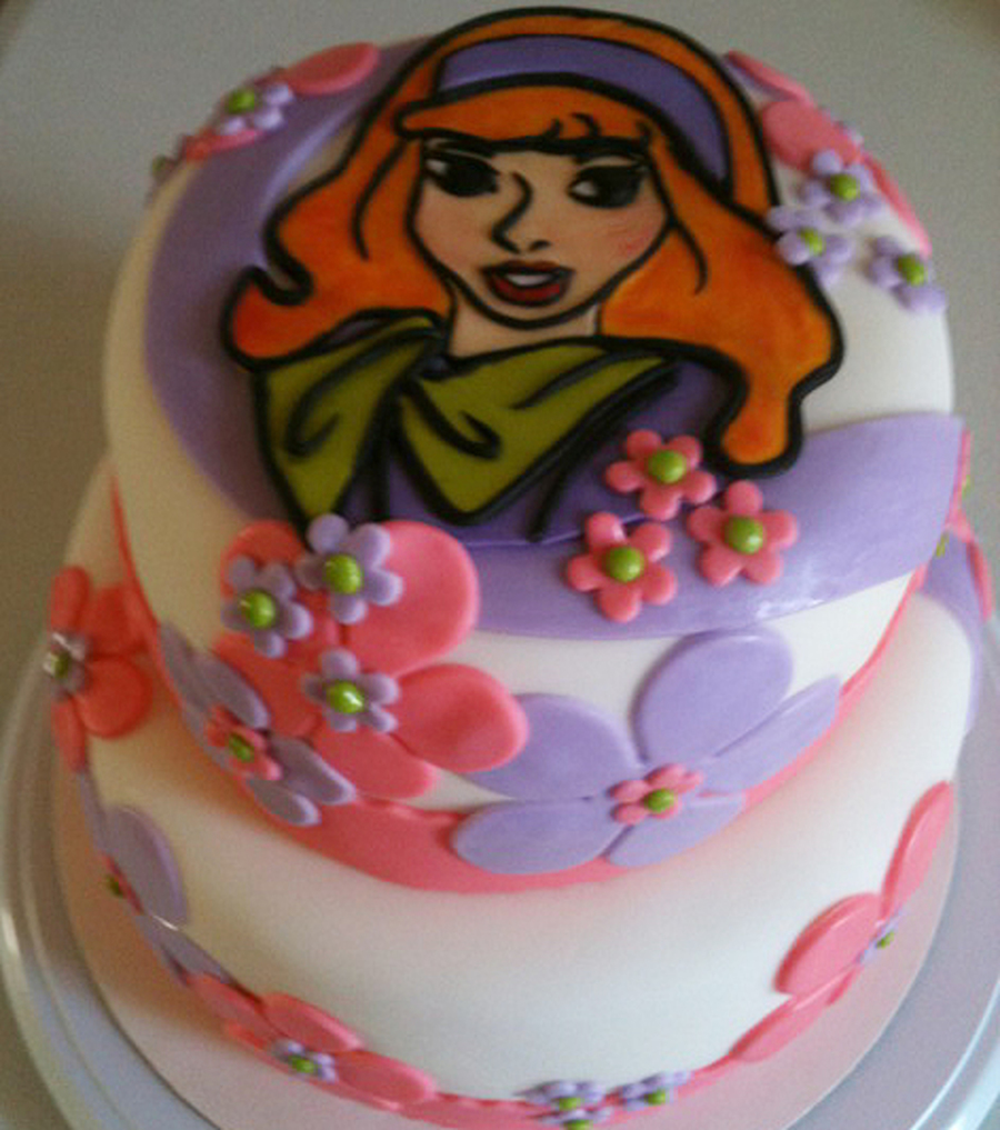 Swell Daphne From Scooby Doo Birthday Cake Cakecentral Com Funny Birthday Cards Online Alyptdamsfinfo